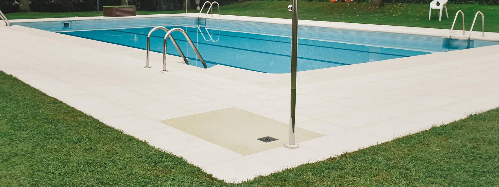 Platos de ducha cargas minerales piscinas
